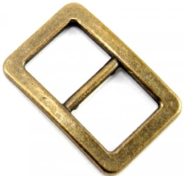 Plastic and metal clothing buckles