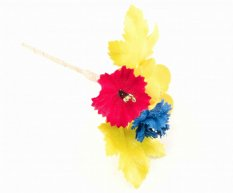 Festive flower - diameters 13 cm