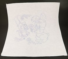 Embroidery pattern for children - animals - dimensions 35 cm x 35 cm