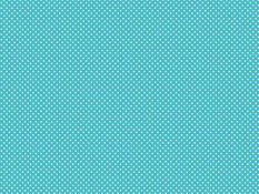 Cotton canvas - white dots on turquoise background