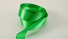 Grass green satin ribbon No. 3107