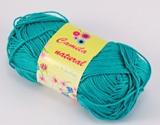 Yarn Camila natural - sea green- color number 131