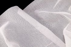 Cotton embroidery fabric Kanava nr. 5 - white - width 140 cm