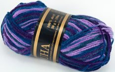 Yarn Duha - blue purple 407