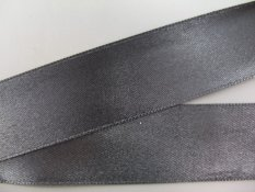 Black satin ribbon No.  3204
