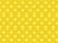 Cotton canvas - white dots on yellow background