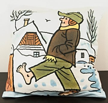 Covers with motifs of Josef Lada - Cushion size - 50 cm x 33 cm