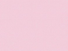 Cotton canvas - white dots on pale pink background