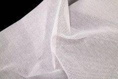 Cotton embroidery fabric Kanava nr. 7 - white - width 140 cm