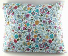 Anti-snoring herbal pillow - floral pattern - dimensions 33 cm x 25 cm