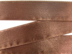 Brown satin ribbon No. 3203