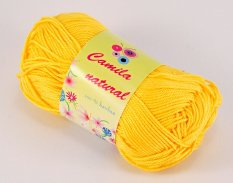 Yarn Camila natural - yellow - color number 180