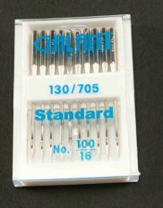 Needles Standard for sewing machines - 10 pcs - size 100/16