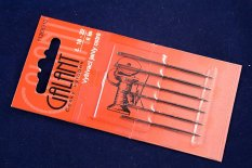 Sharp embroidery needles - 6 pcs - length 4 cm - 6 cm