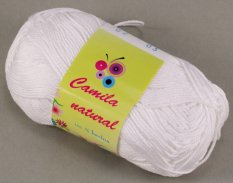 Yarn Camila natural - white - color number 2