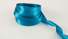 Turquoise satin ribbon No. 3145