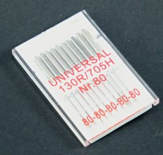 Needles Universal for sewing machines - 10 pcs - 80