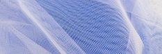 Solid netting tulle - white - width 160 cm